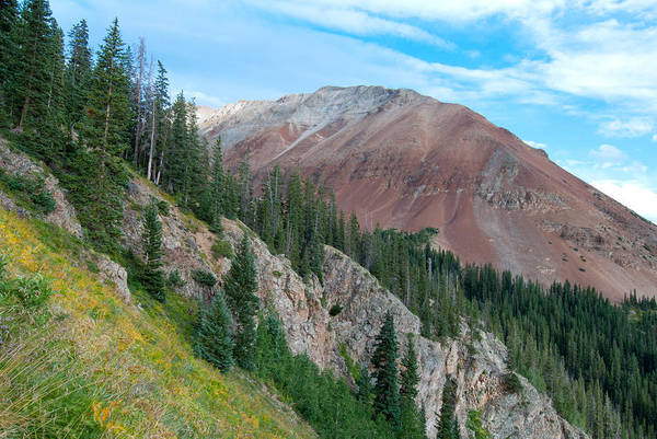 Photograph - El Diente Peak by Cascade Colors