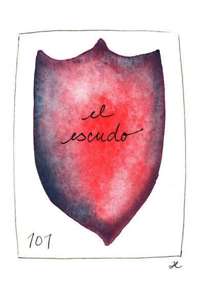 Painting - El Escudo by Anna Elkins