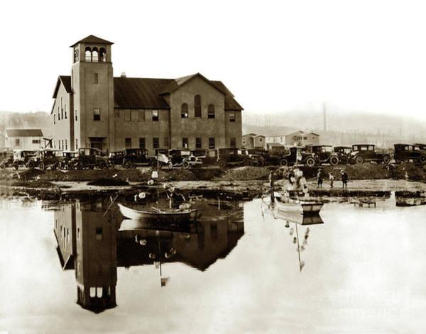 Photograph - El Estero Presbyterian Church  490 Camino El Estero, Monterey Ci by California Views Archives Mr Pat Hathaway Archives