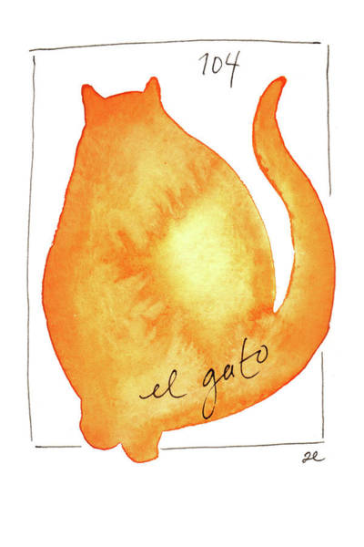 Painting - El Gato by Anna Elkins