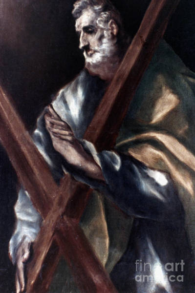 Painting - El Greco: St. Andrew by Granger