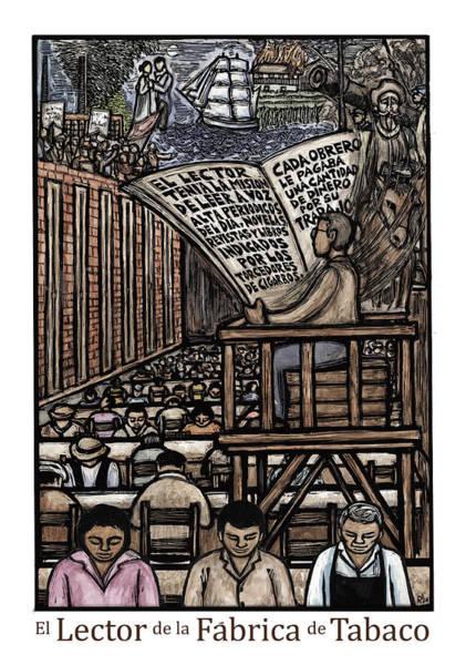 El Lector Art Print by Ricardo Levins Morales