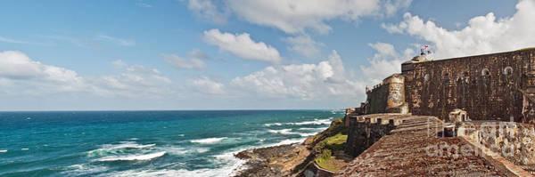 Puerto Rican Photograph - El Morro Panorama by Jim Chamberlain