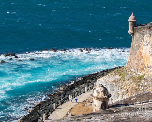 El Toro Photograph - El Morro Pathway by Cheryl Del Toro