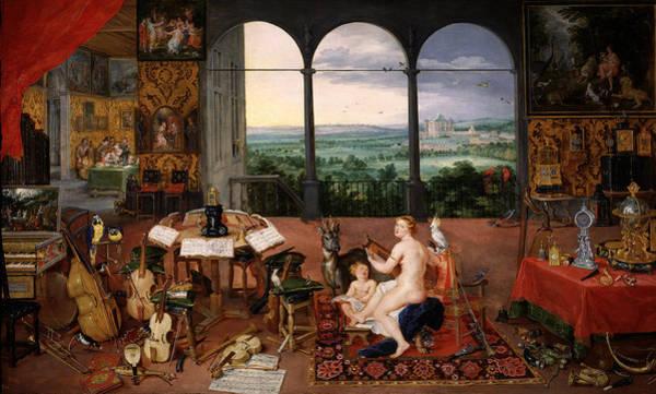 Photograph - El Oido 2 by Rubens and Jan Brueghel the Elder