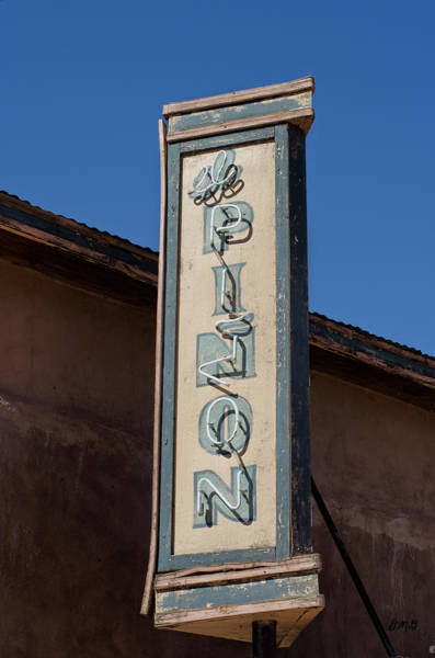 Photograph - El Pinon Neon Sign by Dave Gordon