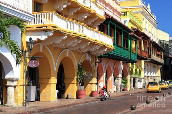 Photograph - El Portal De Los Dulces Cartagena by John Rizzuto