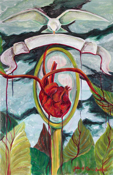 Painting - El Reflejo by Julie Davis Veach