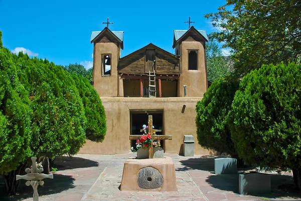 Photograph - El Santuario De Chimayo by Ginger Wakem
