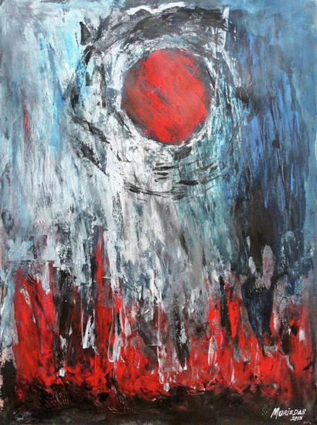 Painting - El Sol Evapora El Alma by Lorenzo Muriedas
