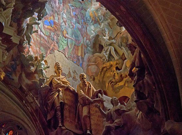 Photograph - El Transperante, Toledo Cathedral by Stephen Barrie