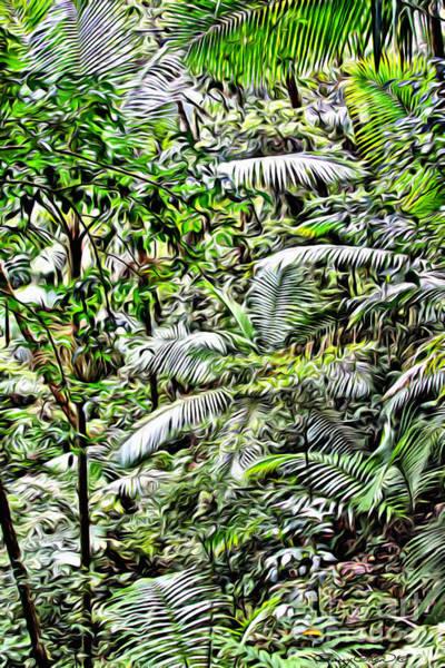 Wall Art - Photograph - El Yunque Rainforest 4 by Carey Chen
