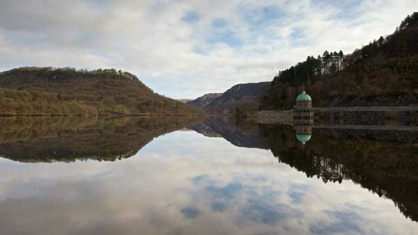 Photograph - Elan Valley Reflections by Stephen Taylor