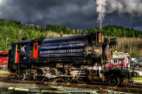 Photograph - Elbe Steam Engine 17 Hdr 2  by Rob Green