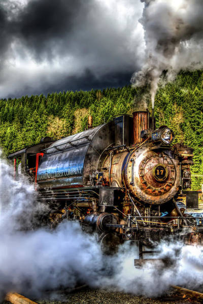 Photograph - Elbe Steam Engine #17 Hdr by Rob Green