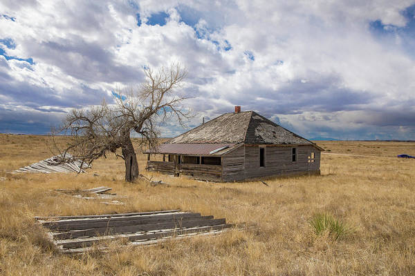 Wall Art - Photograph - Elbert County Abandoned Homestead by Bridget Calip