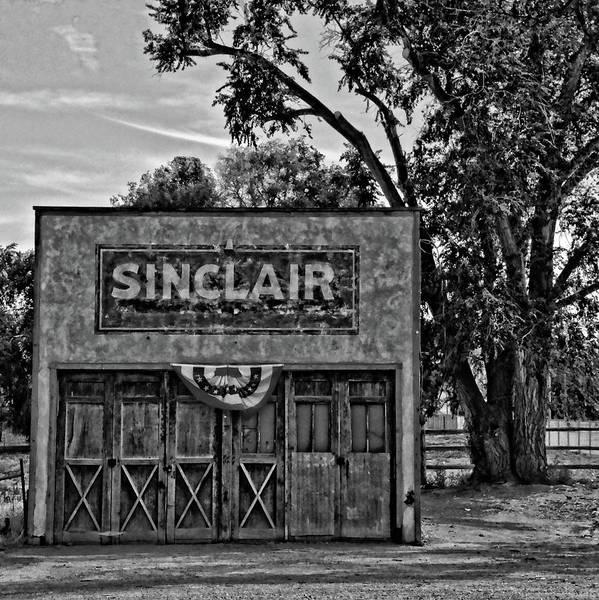 Photograph - Elberta Sinclair Bw by David King