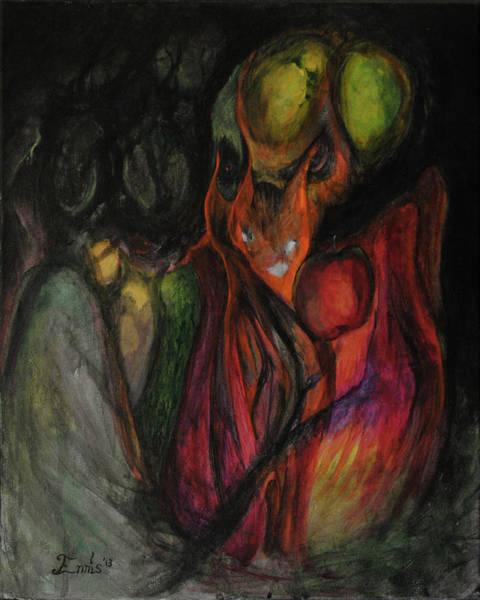 Painting - Elder Keepers by Christophe Ennis