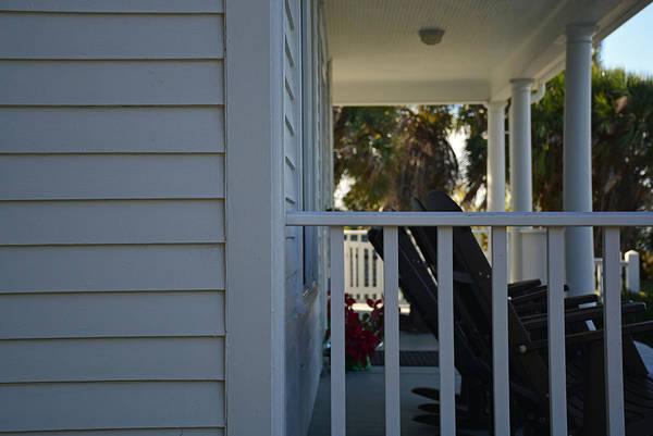 Photograph - Eldora Statehouse Porch Florida by Bruce Gourley