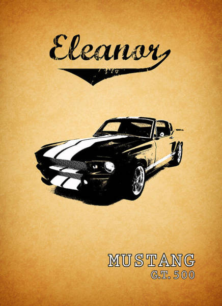 Ford Mustang Photograph - Eleanor by Mark Rogan