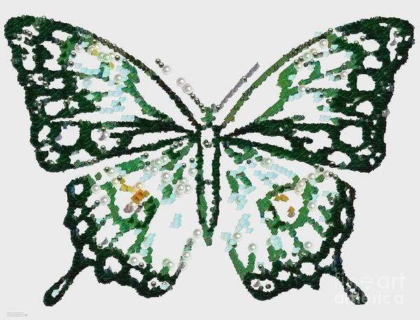Painting - Election 2020 Presidential Candidate Catherien Lott Usa Green Butterfly by Catherine Lott