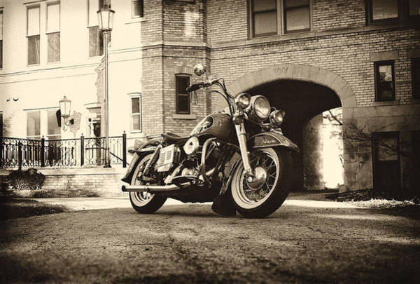 Chopper Photograph - Electra Glide by  Nick Solovey
