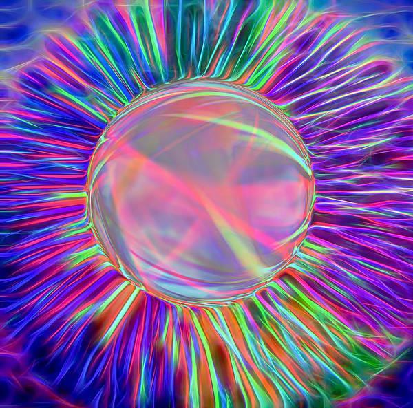 Fun Wall Art - Photograph - Electric Ball - Kooosh Ball by Steve Ohlsen