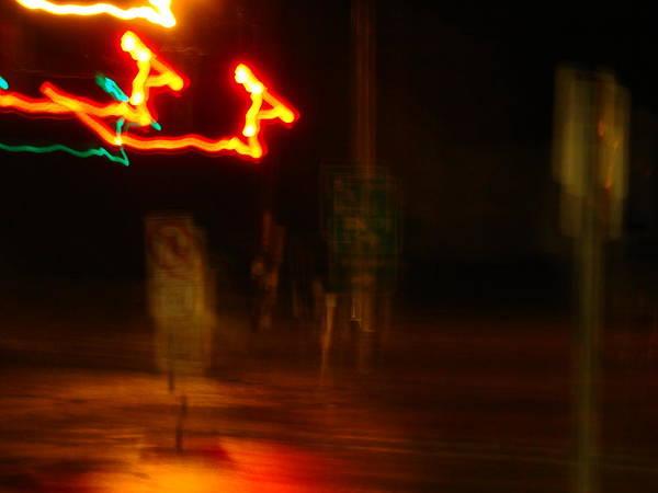 Wall Art - Photograph - Electric Christmas-reindeer Romp by Dahlia Tumavicus