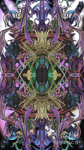 Electric Eye 2 Art Print