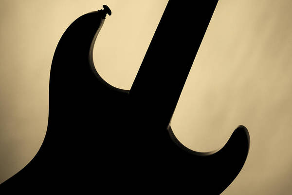 Photograph - Electric Guitar Fine Art Photograph Art Print Or Picture  4156.0 by M K Miller