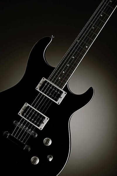 Photograph - Electric Guitar Fine Art Photograph Art Print Or Picture  4161.0 by M K Miller