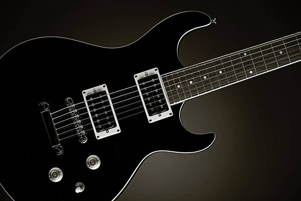 Photograph - Electric Guitar Fine Art Photograph Art Print Or Picture  4163.0 by M K Miller