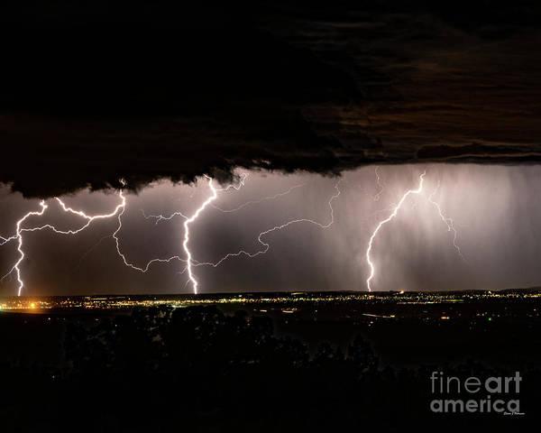 Photograph - Electric Horizon by Steven Natanson