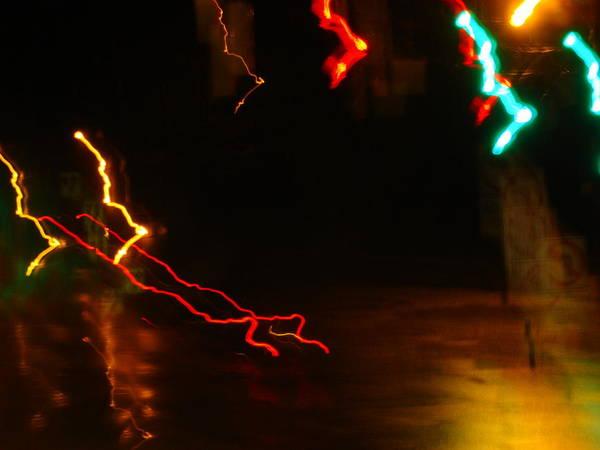 Wall Art - Photograph - Electric Reindeer-sleigh Take-off by Dahlia Tumavicus