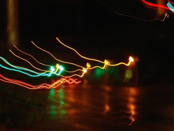 Wall Art - Photograph - Electric Santas Reindeer 2 by Dahlia Tumavicus
