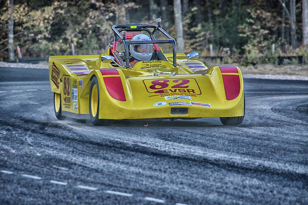 Whiskey Hill Wall Art - Photograph - Electric Sports Racer by Mike Martin