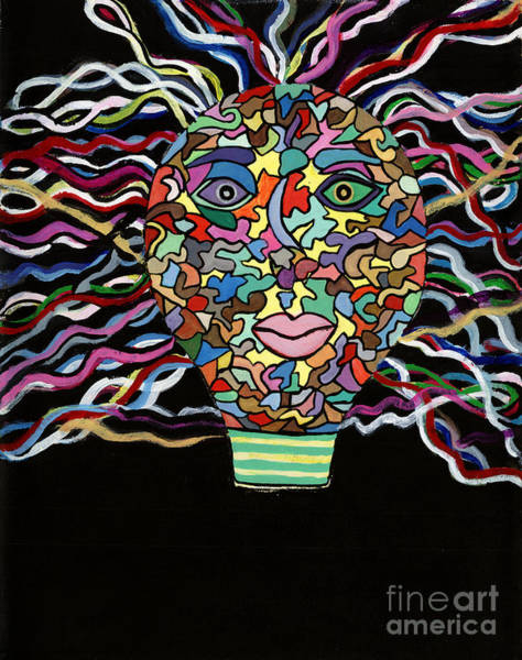 Painting - Electrified by Victoria Bosman