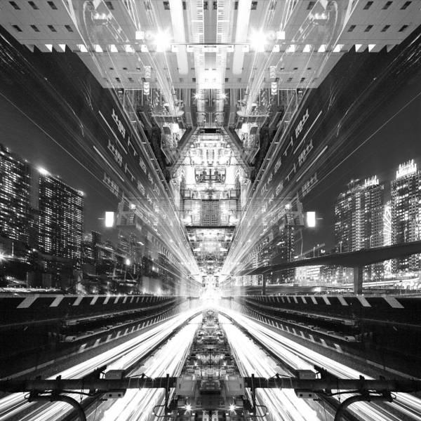 Urban Photograph - Electro Warp by Koji Tajima