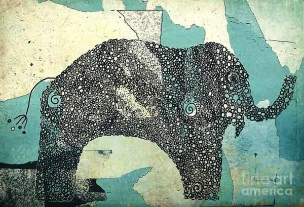 Wall Art - Digital Art - Elefanterie - 10abb by Variance Collections