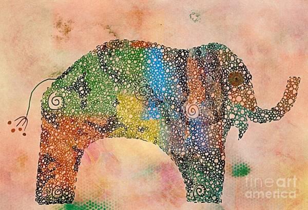 Elefanterie - V12 Art Print