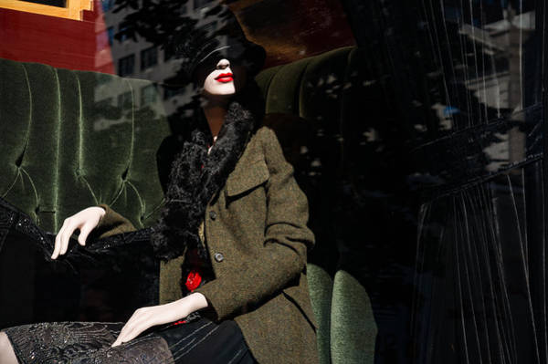 Photograph - Elegance Glamour And Chic - Bright Red Lipstick In The Shadows by Georgia Mizuleva