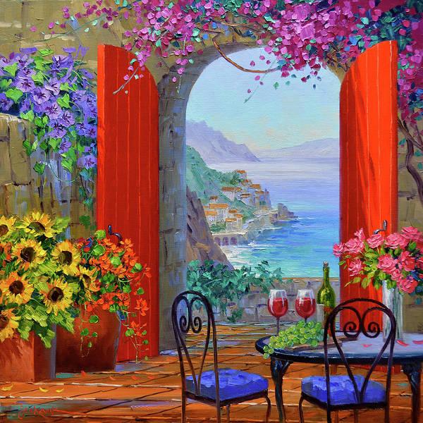 Wall Art - Painting - Elegance Of Romance by Mikki Senkarik