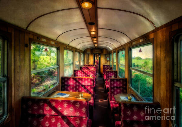Train Car Photograph - Elegance Past by Adrian Evans