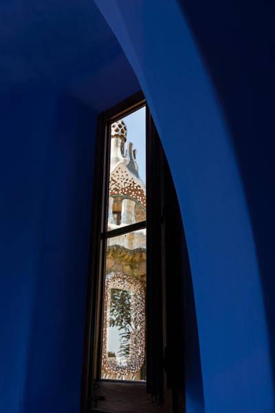 Photograph - Elegant Antoni Gaudi - Inside And Outside by Georgia Mizuleva