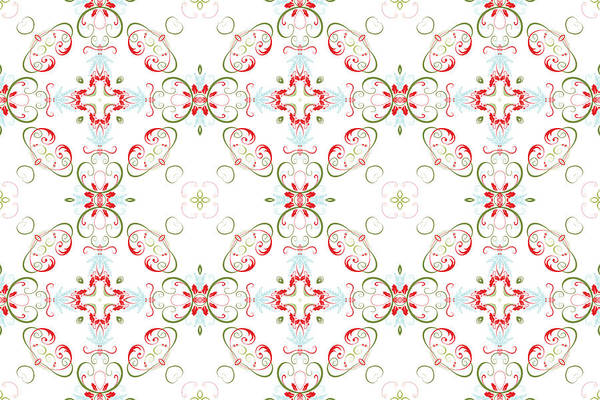 Digital Art - Elegant Christmas #01 by Ruth Moratz