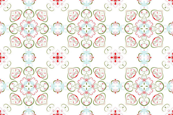 Digital Art - Elegant Christmas #02 by Ruth Moratz