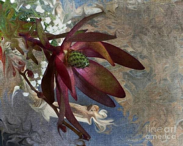 Digital Art - Elegant Orchid  by Kathie Chicoine
