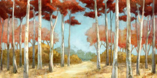Elegantredforest Art Print