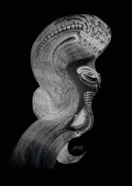 Hairdo Digital Art - Element 081 by JF Bautista