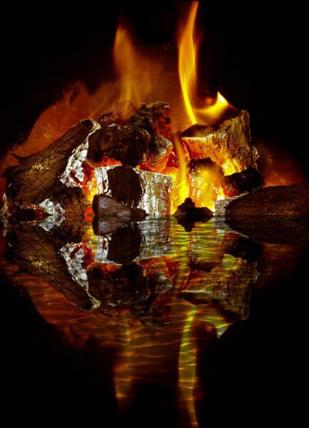 Fuel Element Photograph - Element Reflections by Tom Gowanlock